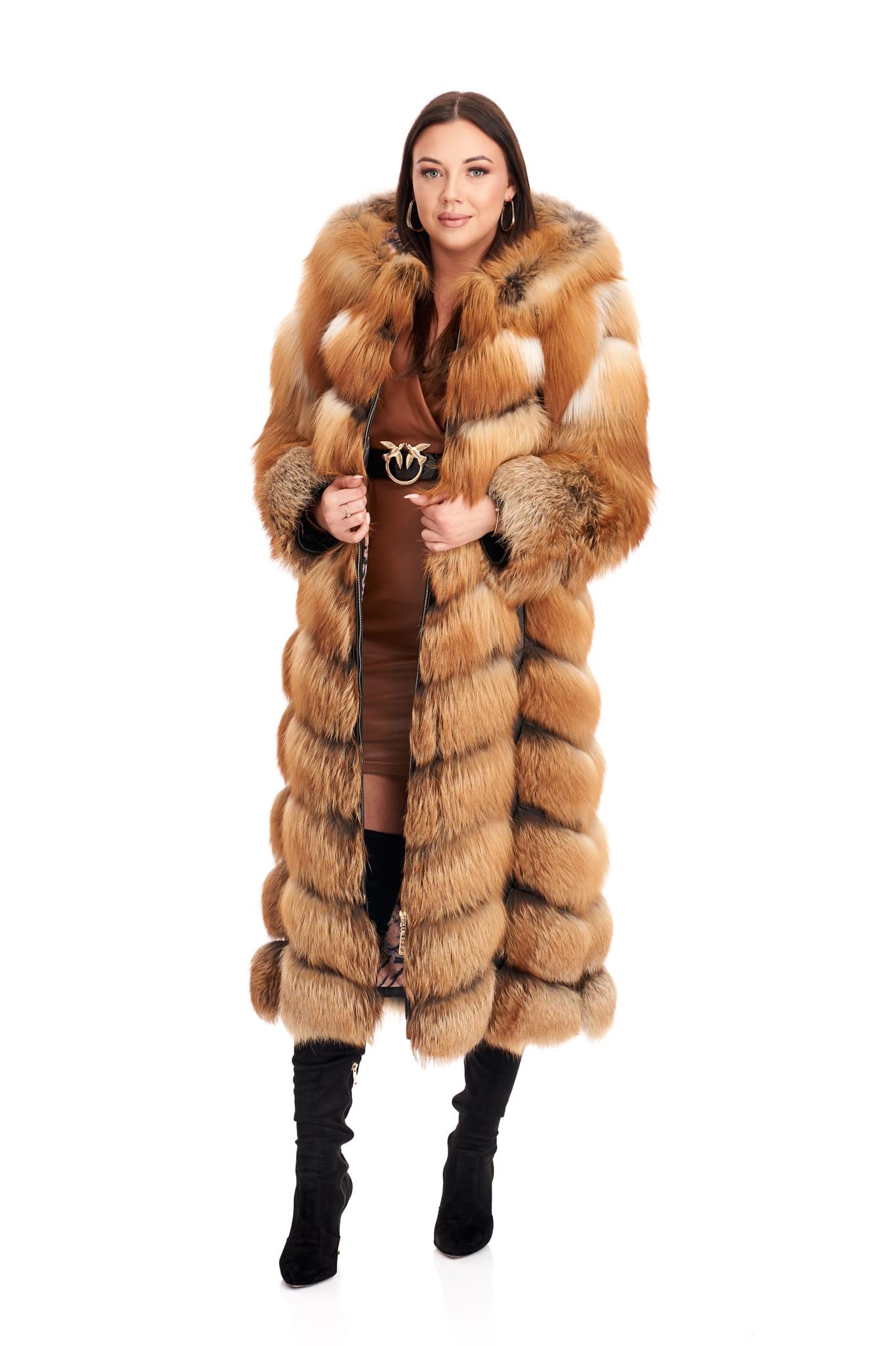 Image of Bardzo bogate futro z lisa płomienistego