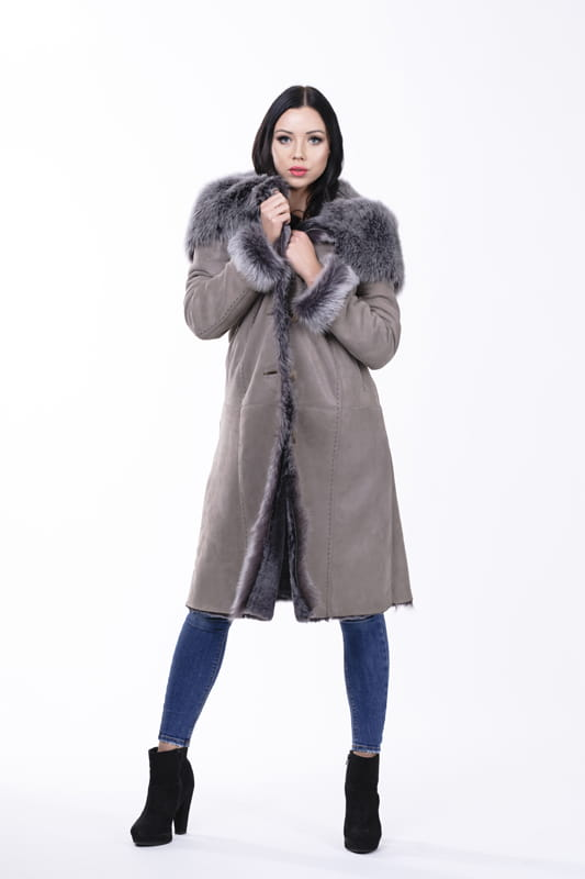 Kożuch damski Sonia/110cm